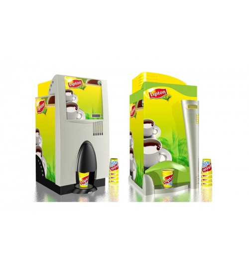 2 Option Lipton Vending Machines