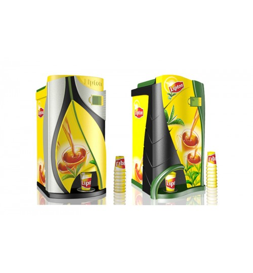 4 Option Lipton Vending Machine