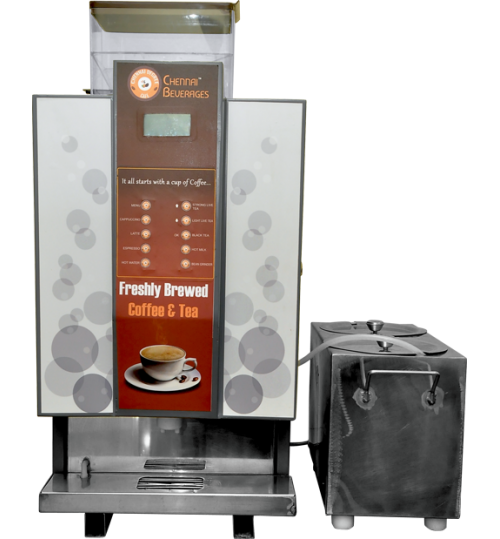 Bean To Cup Fresh Milk Vending Machine