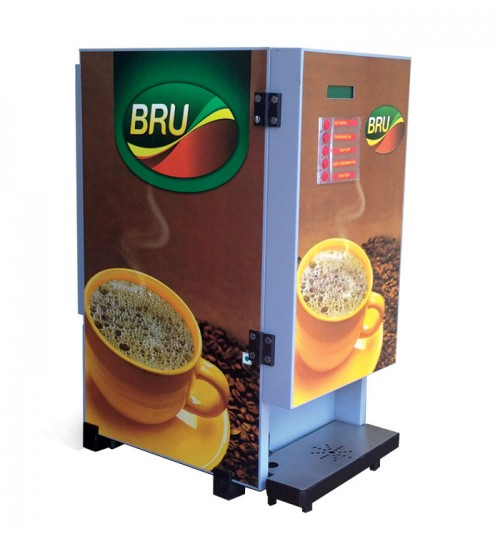 Bru Coffee Machine With 4 Option