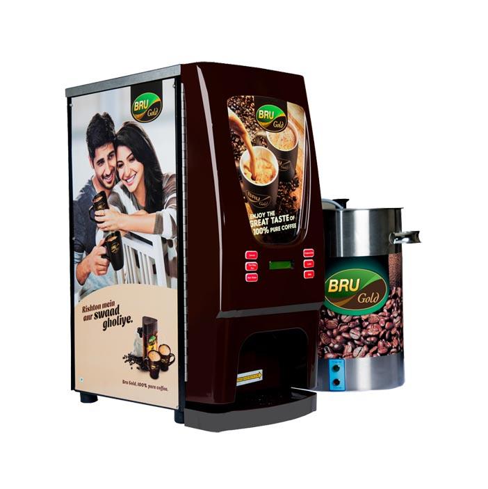 Bru Tea Coffee Vending Machine Distributors In India